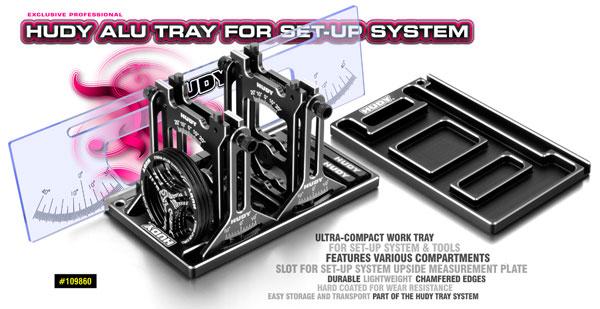 SMI HUDY News HUDY Alu-Tablett für das SetupSystem