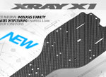 SMI XRAY News X1´19 Graphite Chassis 2.5mm Hard