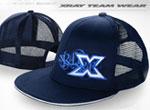 SMI XRAY News HUDY Trucker Cap - Blau