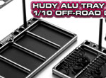 SMI HUDY News Alu-Tablett für 1/10 OffRoad Diff&Shocks