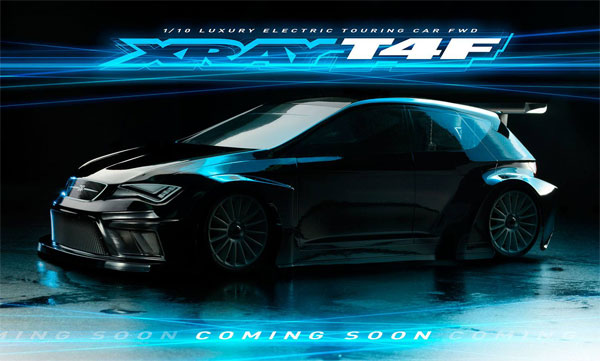SMI XRAY News Xray T4F FWD Touring Car - Coming soon