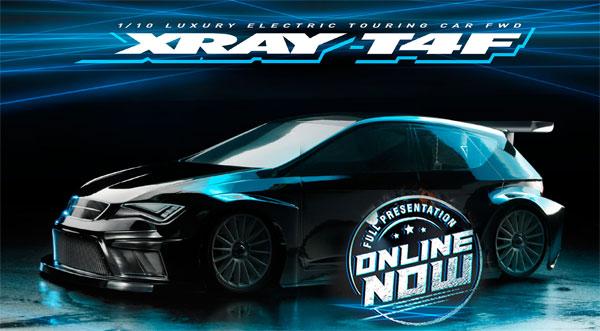 SMI XRAY News Xray T4F FWD Online now