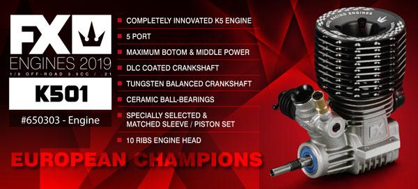 SMI FX-Engines FX Engines K501