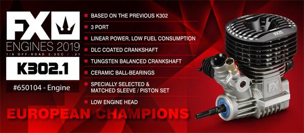 SMI FX-Engines FX-Engines K302.1 3-Port-Motor
