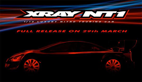 SMI XRAY News XRAY NT1 is coming soon.