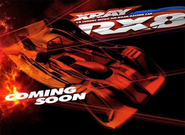 SMI XRAY News XRAY RX8 is coming soon.