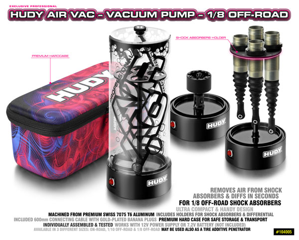 SMI HUDY News HUDY Air Vac Vakuumpumpe 1/8 OR