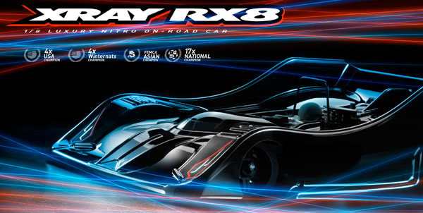 SMI XRAY News XRAY New RX8 Online now