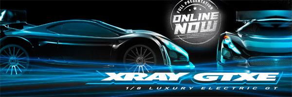 SMI XRAY News XRAY GTXE Online now