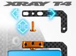SMI XRAY News T4 Voll einstellbarer Akkuhalter
