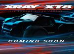 SMI XRAY News XRAY XT8 is coming soon.