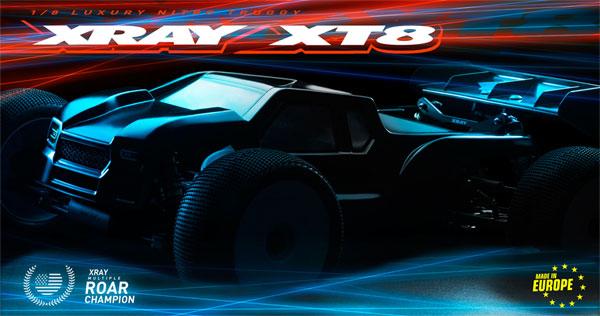 SMI XRAY News New XT8 Online now