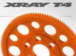 SMI XRAY News T4 Orange Composite Zahnräder