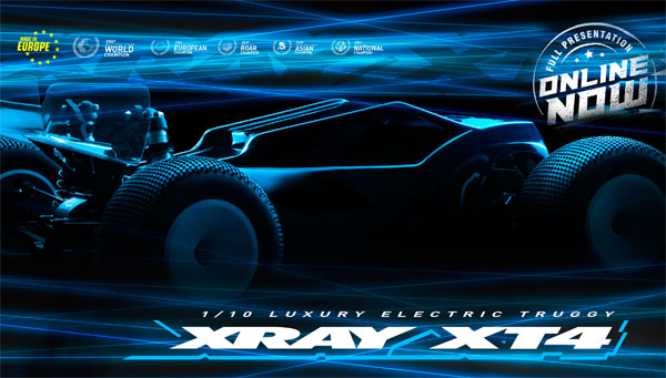 SMI XRAY News New XT4 Online now