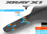 SMI XRAY News X1´19 Graphite Chassis & Top Deck