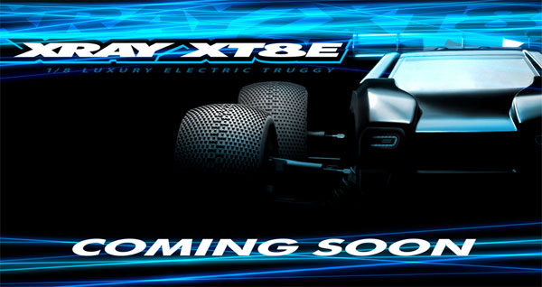 SMI XRAY News XRAY XT8E coming soon