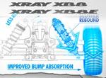 SMI XRAY News XB8 Stoßdämpfer - Zero Rebound