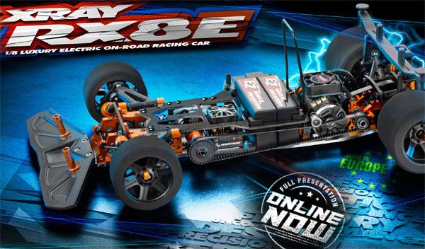SMI XRAY News New RX8e Online now