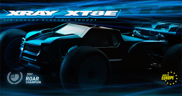 SMI XRAY News New XT8E Online now