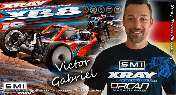 SMI Motorsport News Victor Gabriel mit XRAY / SMI ...