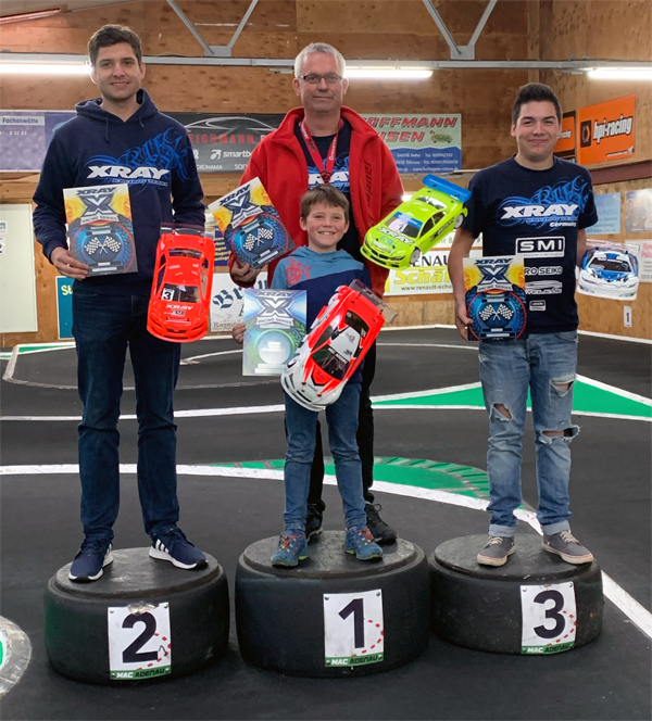 SMI Motorsport News  XRAY XRS Germany #1 Adenau