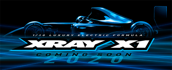 SMI XRAY News XRAY X1 ´20 Coming soon