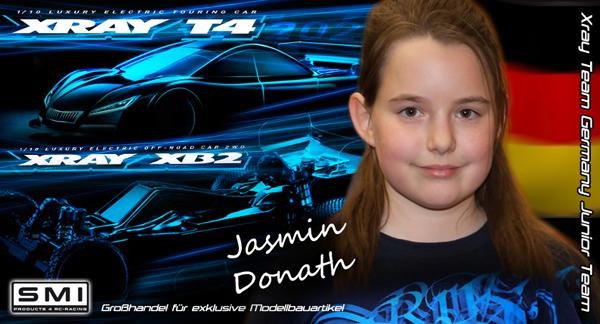 SMI Motorsport News Jasmin Donath mit XRAY / SMI ...