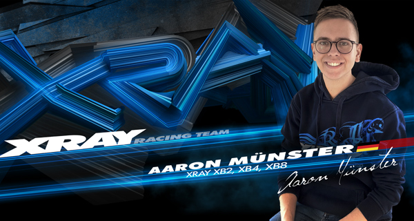 SMI Motorsport News Aaron Münster goes XRAY