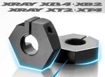 SMI XRAY News Neu Alu Radnabe 12mm Offset -1.25mm