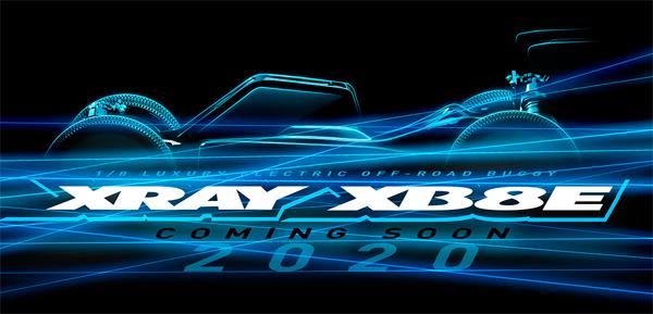 SMI XRAY News XRAY XB8E ´20 Coming soon