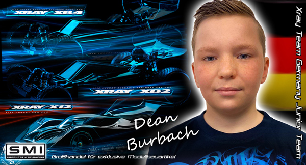 SMI Motorsport News D.Burbach im SMI XRAY Junior Team