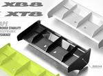 SMI XRAY News Neue Composite Heckspoiler XB8 & XT8