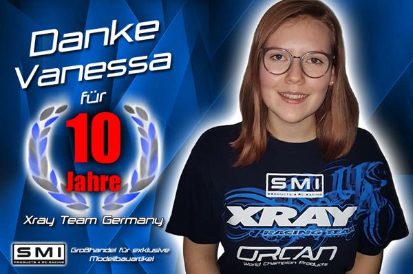 SMI Motorsport News Danke Vanessa