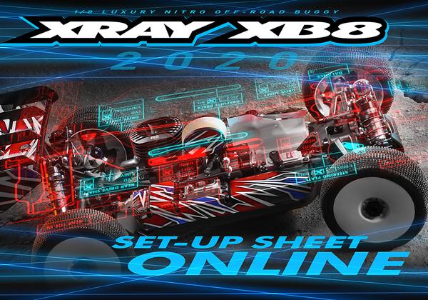 SMI Motorsport News XB8´20 Set-Up Online