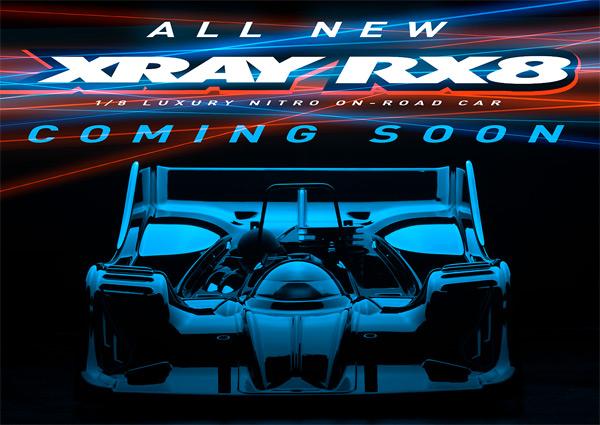 SMI XRAY News XRAY RX8 is coming soon