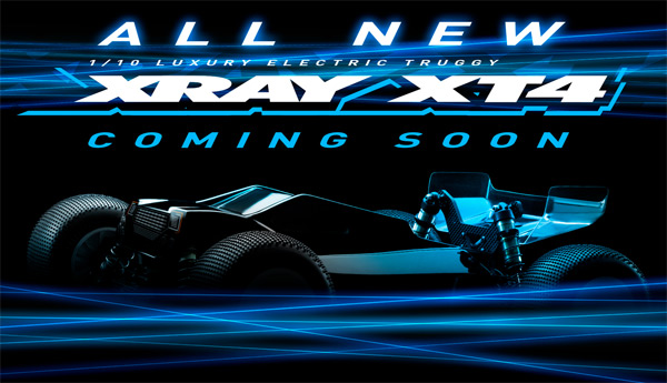 SMI XRAY News XRAY XT4 is coming soon.