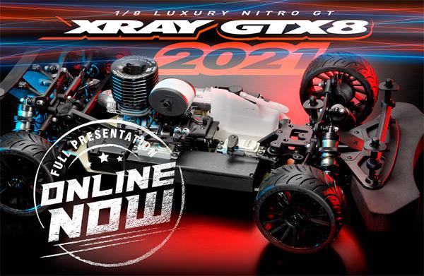 SMI XRAY News New GTX8 Online now