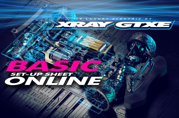 SMI XRAY News GTXE Basic Set-up Sheet