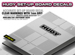 SMI HUDY News Neue HUDY Set-Up Board Aufkleber
