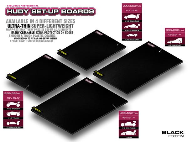 SMI HUDY News HUDY Flat Setup Board Light black