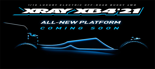 SMI XRAY News Xray XB4´21 Coming soon