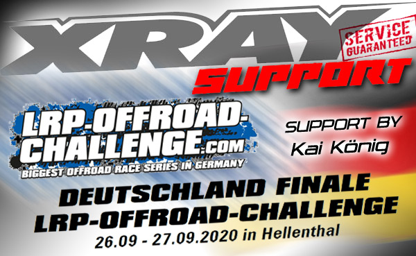 SMI Motorsport News XRAY Support by LRP-Offroad DM