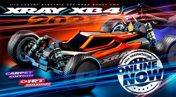 SMI XRAY News New XB4´21 Online now