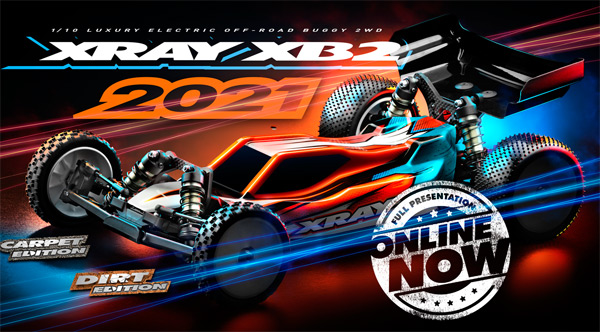 SMI XRAY News New XB2´21 Online now