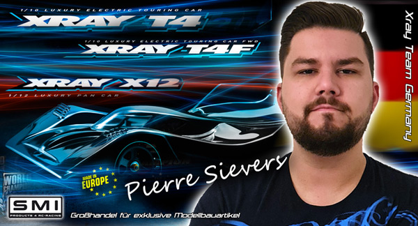 SMI Motorsport News Pierre Sievers  im SMI / Xray ....