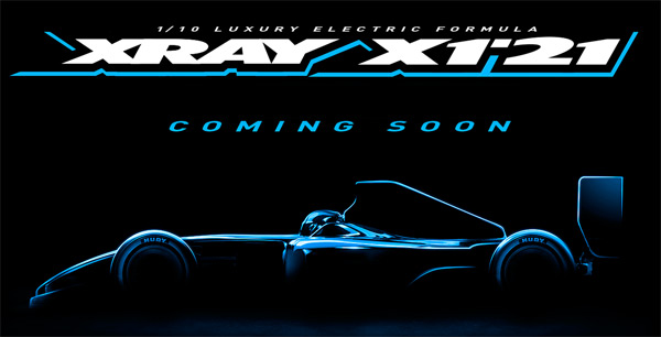 SMI XRAY News Xray X1´21 Coming soon