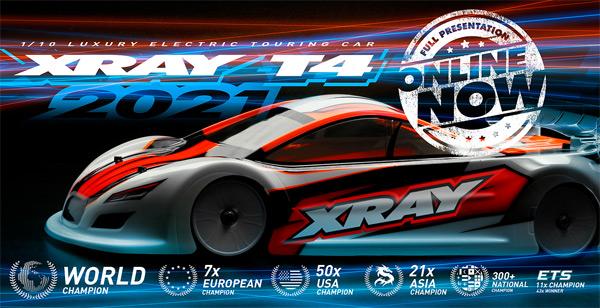 SMI XRAY News XRAY T4´21 Online now