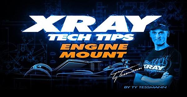 SMI XRAY News XRAY Tech Tips - Motorhalterung am XB8