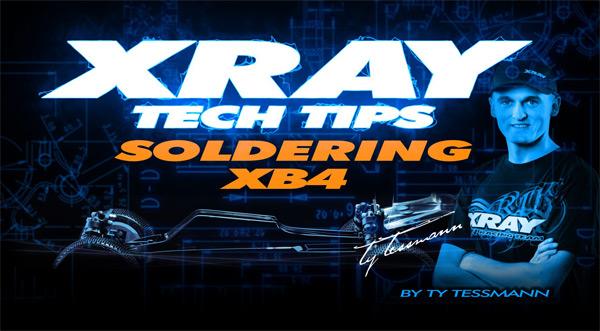 SMI XRAY News XRAY Tech Tips Löten beim XB4