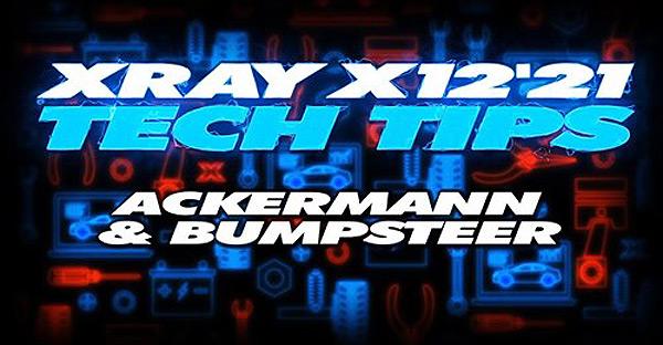 SMI XRAY News XRAY TechTip X12 ackermann and ...